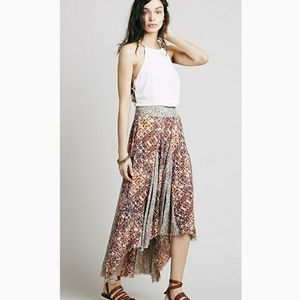 Free People Show You Off Maxi Skirt